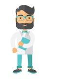 Jonge aantrekkelijke ingezetene arts Stock Foto's