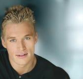 Jonge aantrekkelijke mens Stock Fotografie