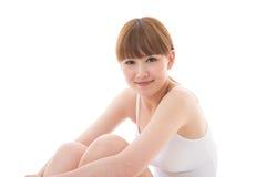 Jonge aantrekkelijke vrouw Stock Foto's
