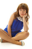 Jonge Aantrekkelijke Vrouw Stock Fotografie