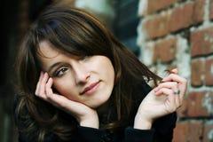 Jonge aantrekkelijke vrouw. Royalty-vrije Stock Foto