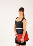 Jonge aantrekkelijke vrouwelijke beambte Stock Fotografie