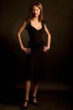 Jonge aantrekkingskrachtvrouw Royalty-vrije Stock Foto's