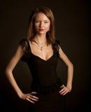 Jonge aantrekkingskrachtvrouw Royalty-vrije Stock Afbeelding