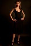 Jonge aantrekkingskrachtvrouw Royalty-vrije Stock Fotografie