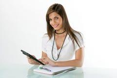 Jonge accountant Royalty-vrije Stock Afbeelding