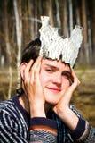 Jonge acteur royalty-vrije stock fotografie