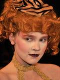 Jonge actrice Royalty-vrije Stock Afbeelding