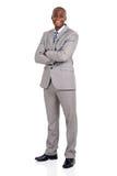 Jonge Afrikaanse Amerikaanse zakenman Royalty-vrije Stock Afbeelding
