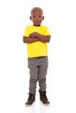 Jonge Afrikaanse jongen royalty-vrije stock foto