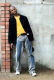 Jonge Afrikaanse mens royalty-vrije stock foto's