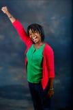 Jonge Afrikaanse vrouw stock afbeeldingen