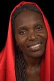 Jonge Afrikaanse vrouw Royalty-vrije Stock Foto's