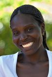Jonge Afrikaanse vrouw Stock Foto