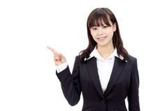 Jonge Aziatische bedrijfsvrouw Royalty-vrije Stock Foto