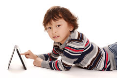Jonge Aziatische jongen Stock Afbeeldingen