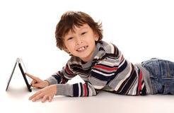Jonge Aziatische jongen Royalty-vrije Stock Foto