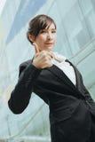 Jonge Aziatische Onderneemster Royalty-vrije Stock Foto