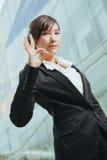Jonge Aziatische Onderneemster Royalty-vrije Stock Foto's
