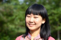 Jonge Aziatische schoonheid Royalty-vrije Stock Foto