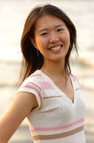 Jonge Aziatische student Stock Afbeeldingen