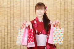 Jonge Aziatische vrouw Royalty-vrije Stock Afbeeldingen