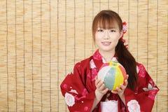 Jonge Aziatische vrouw Royalty-vrije Stock Foto