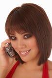 Jonge Aziatische vrouw Stock Foto