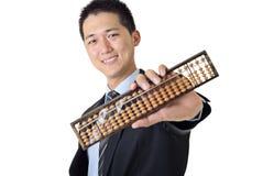 Jonge Aziatische zakenman Stock Afbeelding