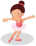 Jonge ballerina Royalty-vrije Stock Foto
