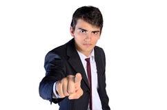 Jonge BedrijfsMens stock foto