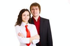 Jonge bedrijfsmensen royalty-vrije stock afbeeldingen