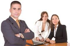 Jonge bedrijfsmensen - Commercieel team Royalty-vrije Stock Fotografie