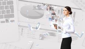 Bedrijfs technologieën vandaag royalty-vrije stock foto
