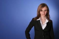 Jonge bedrijfsvrouw Stock Foto