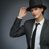 Jonge bedrijfsvrouw Royalty-vrije Stock Foto