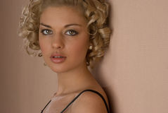 Jonge blond Royalty-vrije Stock Foto