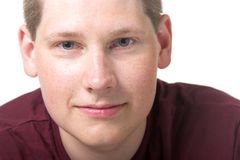 Jonge blonde mens Royalty-vrije Stock Afbeeldingen