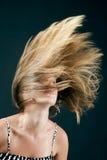 Jonge blonde schoonheid Stock Afbeelding