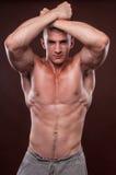 Jonge bodybuilder Stock Foto