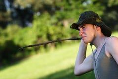 Jonge boswachter Royalty-vrije Stock Foto