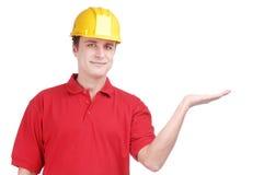 Jonge bouwer Stock Afbeeldingen