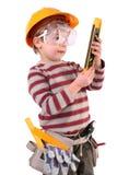 Jonge Bouwer Stock Afbeelding