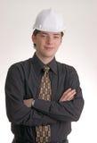 Jonge bouwingenieur stock fotografie