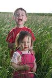 Jonge Broer en Zuster royalty-vrije stock foto