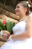 Jonge bruid Royalty-vrije Stock Afbeelding