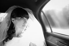 Jonge bruid Royalty-vrije Stock Foto