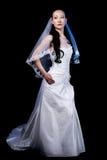 Jonge bruid stock fotografie