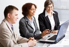 Jonge businesspeople Stock Foto