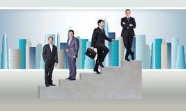 Jonge businesspeople stock afbeelding